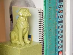 diy painted animal bookends hgtv