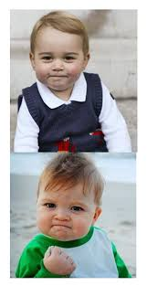 Meme Baby Fist - i m probably months late on this but prince george really does look