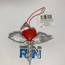 Nurse Christmas Ornament - details about rn nurse christmas ornament hanging tree decoration