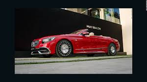 maybach sports car mercedes unveils its most expensive car cnn video