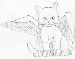 angel cat drawing lonecat 2017 jan 24 2012