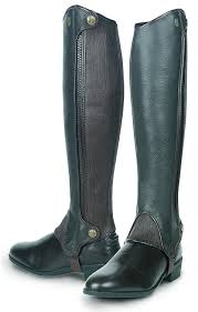 sport riding boots amazon com tredstep ireland deluxe side zip chaps sports u0026 outdoors
