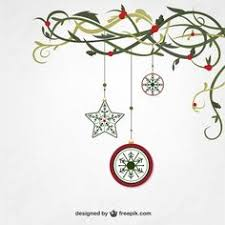 free christmas ornament elements and labels vector material 03