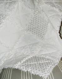 Shabby Chic Quilting Fabric by 25 Best Shabby Chic Quilts Ideas On Pinterest White Quilts Rag