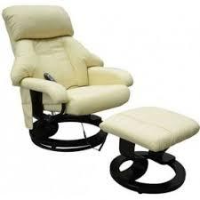 Armchair Recliner Leather Massage Chair Recliner Open Travel