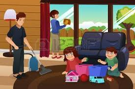 Cleaning House Family Cleaning House Images U0026 Stock Pictures Royalty Free Family
