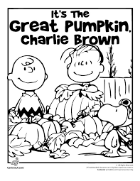 charlie brown halloween coloring pages funycoloring