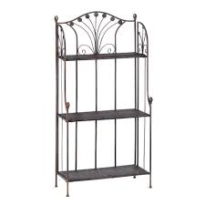 Cheap Bakers Rack Amazon Com French Market Home Kitchen Bar Bakers Rack Shelf Stand