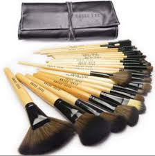 bobbi brown professional makeup brushes sets with soft black bag