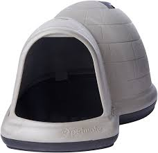 Dog Houses At Tractor Supply Amazon Com Petmate Indigo Dog House With Microban Large Taupe