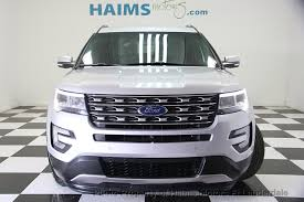 turn off interior lights ford explorer 2016 2016 used ford explorer 4wd 4dr limited at haims motors serving fort