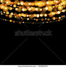 christmas lights design elements background glowing stock vector