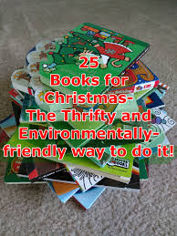 25 books for christmas u2013 the thrifty and environmentally friendly