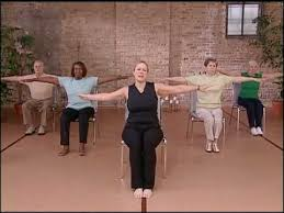 Chair Exercises For Seniors Core Fitness U0027 Chair Pilates Workout Abdominal Exercise For