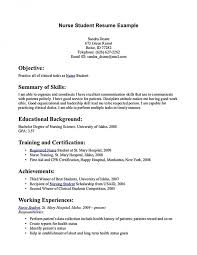 Psychiatric Nurse Resume Sample Student Nurse Resume 8 Examples In Word Pdfstudent