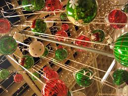 country tree ornaments lights decoration