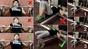 Flat Bench Barbell Press The Complete Pictorial Guide How To Do The Perfect Bench Press