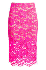 lace skirt bretta pink lace skirt by for 89 rent the runway