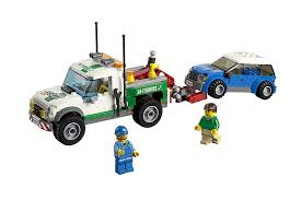lego ford truck amazon com lego city great vehicles pickup tow truck 60081