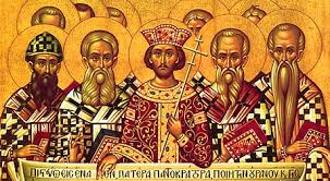 Council Of Constantinople 553 A Towards The Orthodox Receiving The Texts Of