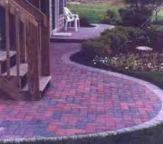 Brick Patio Pattern Suburban Lawn Brick Patios Walks And Retaining Walls