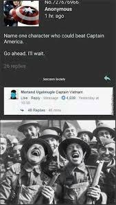 Vietnam Memes - dopl3r com memes no 121676966 anonymous 1 hr ago name one