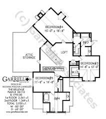 bellevue house plan house plans by garrell associates inc