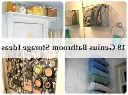 bathroom clever bathroom storage regarding found house storage