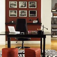 Browse Home Office Ideas Get Paint Color Schemes - Home office paint ideas