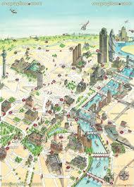 London Maps London Map London Uk 3d Virtual Map Showing Best Historical