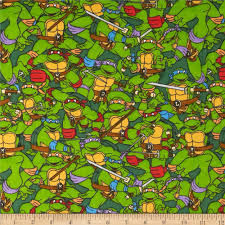 teenage mutant ninja turtles flannel heroes shell