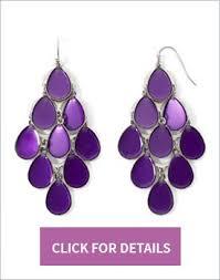 Colorful Chandelier Earrings The Return Of The Chandelier Earrings Mujo