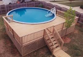 pool lowes deck planner oval pool with deck above ground pool