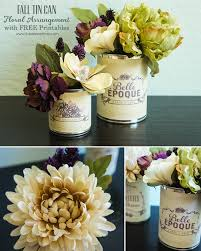 Fall Floral Arrangements Fall Floral Arrangement With Free Printables I Heart Nap Time