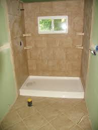 stand up shower ideas