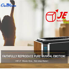 new wireless charging bluetooth speaker music box aux alarm clock