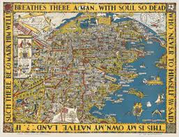 Paper Towns On Maps The Sydney Harbour Bridge Map Australia Commemorating The
