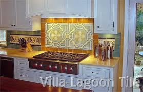 Cement Tile Backsplashes Villa Lagoon Tile - Cement tile backsplash