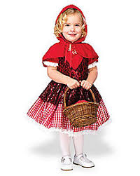 Spirit Halloween Infant Costumes Baby Red Riding Hood Costume Spirithalloween