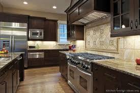 Dark Wood Kitchen Cabinets Ideaforgestudios - Dark wood kitchen cabinets