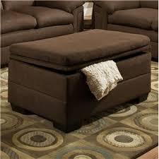 Chocolate Storage Ottoman United Furniture Industries 3615 Casual Storage Ottoman Miskelly