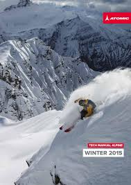 2014 2015 atomic alpine technical manual by amer sports finland