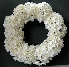 white wreath on roc paper scissors white wreaths