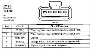 1994 mustang 3 8 wiper motor wiring diagram fixya
