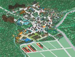 Pennsylvania On Map by Park Map Knoebels Free Admission Amusement Park In Central Pa