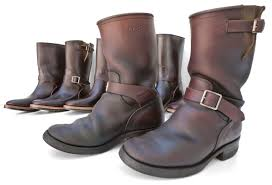 back in brown mister freedom road champ engineer boots nos