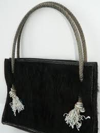 Hair On Cowhide Purse Hair On Cowhide Bag Concho Lined With Leather And 2 Pockets