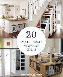 20 small space storage ideas