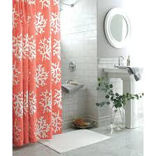 Threshold Medallion Shower Curtain by Coral Shower Curtain Hooks Home Living Room Ideas