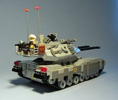 lego army tank united earth federation ground arm m61b3 main battle tank rear